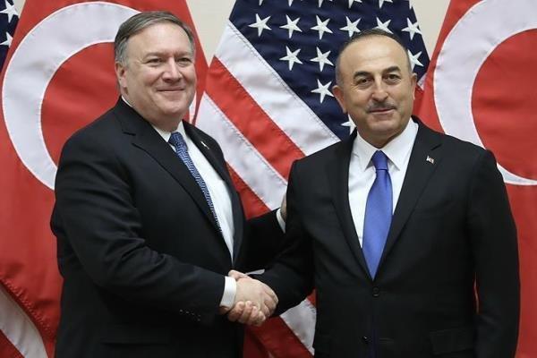 وزرای خارجه آمریکا و ترکیه رایزنی کردند