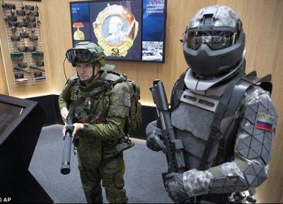 اسکلت خارجی ضدگلوله برای محافظت سربازان روسی+تصاویر