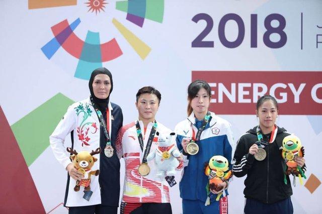 الهه منصوریان: منتظر بازیهای آسیایی 4 سال بعد هستم