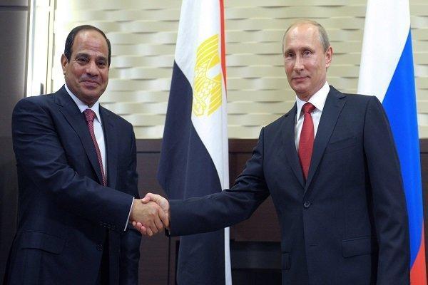 رئیس جمهور مصر عازم روسیه شد
