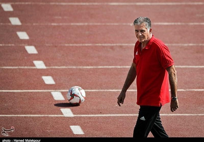 تمرین تیم ملی فوتبال، امتیازدهی کی روش به تمرین شاگردانش، حضور ساکت در سکوت