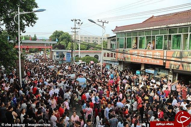 کنکور 10 میلیون نفری در چین