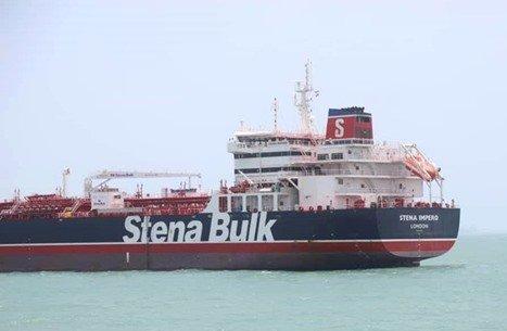 درخواست عمان از ایران برای آزادی نفتکش انگلیسی