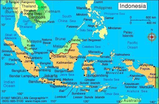 طرح انتقال پایتخت اندونزی به مجلس ارائه شد