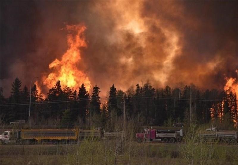 توقف فراوری نفت در کانادا به دلیل آتش سوزی