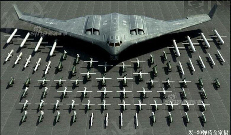 بمب افکن چینی H-20 مدلی سفارشی شده از بمب افکن B-2 اسپیریت است که توازن قوا در اقیانوس آرام را برهم می زند