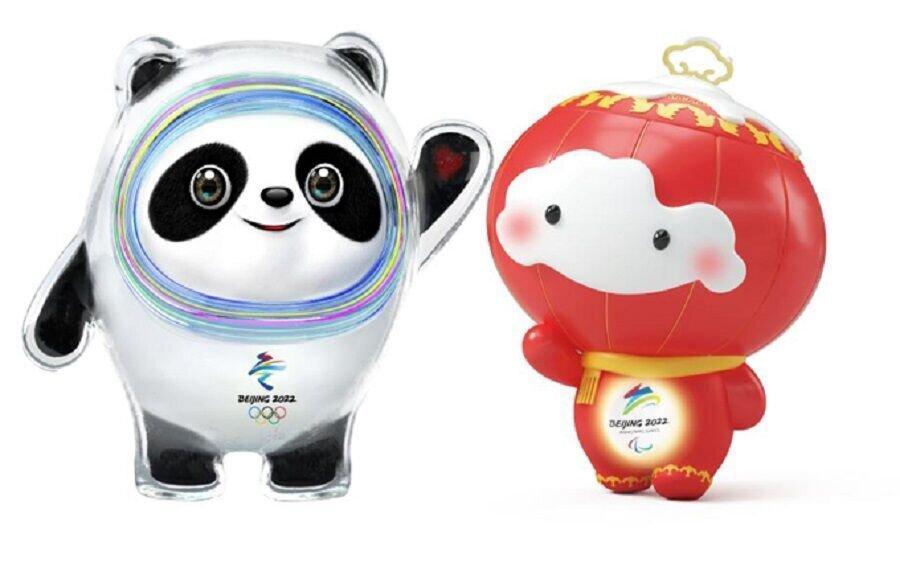 نماد بازی های المپیک زمستانی پکن رونمایی شد