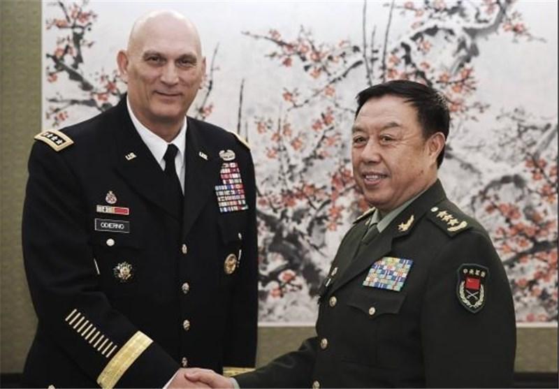 ابراز امیدواری آمریکا برای تقویت همکاری های نظامی با چین