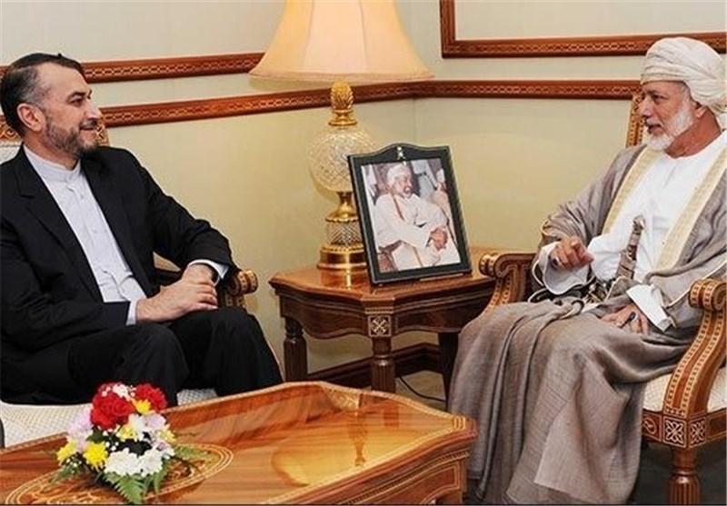 امیرعبداللهیان با وزیر خارجه عمان دیدار کرد
