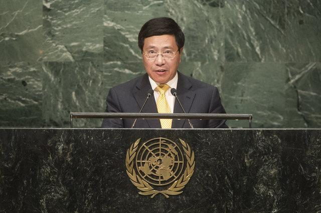 وزیر خارجه ویتنام خواستار اصلاحات در شورای امنیت