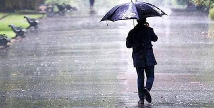 ثبت بیشترین بارش در حوضه خزر