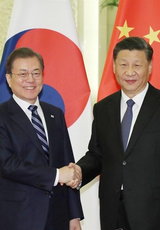 ملاقات رئیس جمهور کره جنوبی با همتای چینی