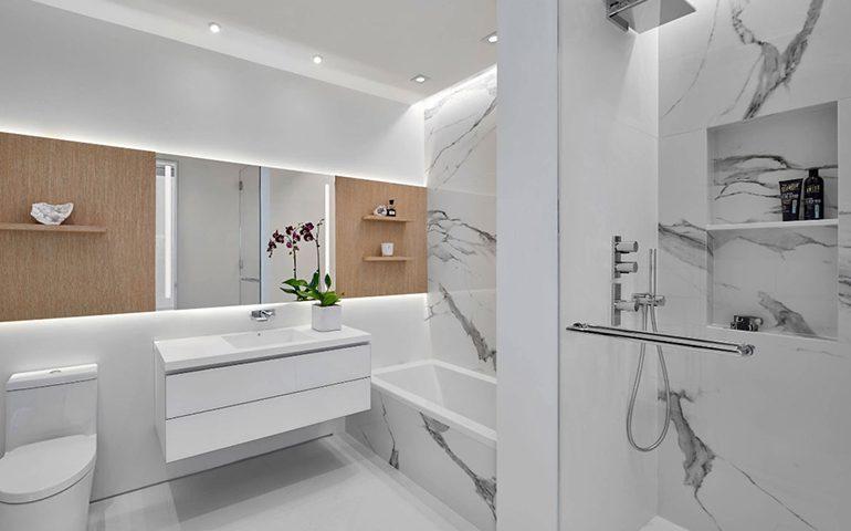 حمام لوکس و روش های طراحی آن