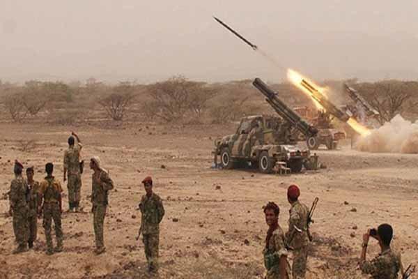 مقاومت یمن پهپاد شناسایی 4ـ CH سعودی را ساقط کرد