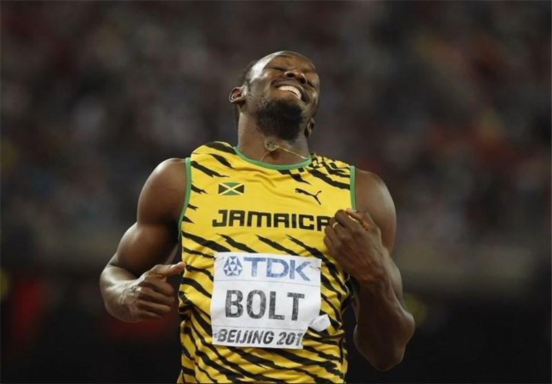 بولت در دوی 200 متر هم قهرمان دنیا شد