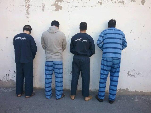 دستگیری سارقان خانه باغ ها در تبریز با 27 فقره سرقت