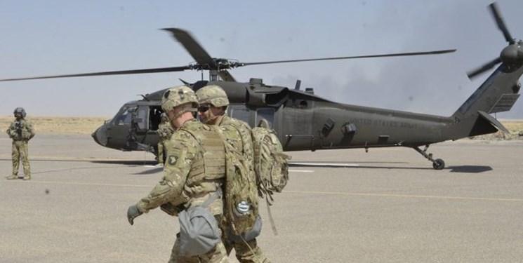 تروریست های آمریکا پایگاه کی وان در کرکوک عراق را تخلیه کردند