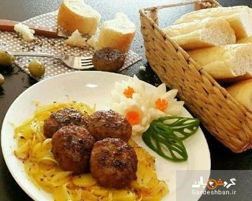 کتلت آلمانی یک غذای محبوب