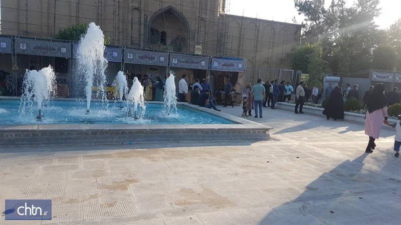 برپایی نمایشگاه تابستانه صنایع دستی در مسجدجامع ورامین