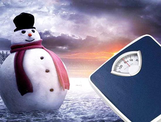 مراقب اضافه وزن زمستانی باشید!