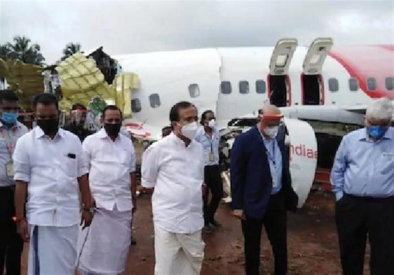 تعداد قربانیان حادثه خروج هواپیما از باند در هند به 20 نفر رسید