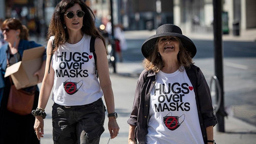 استفاده گروه های مخالف ماسک از ترفندهای فعالان ضد واکسن برای تبلیغ اطلاعات غلط در کانادا