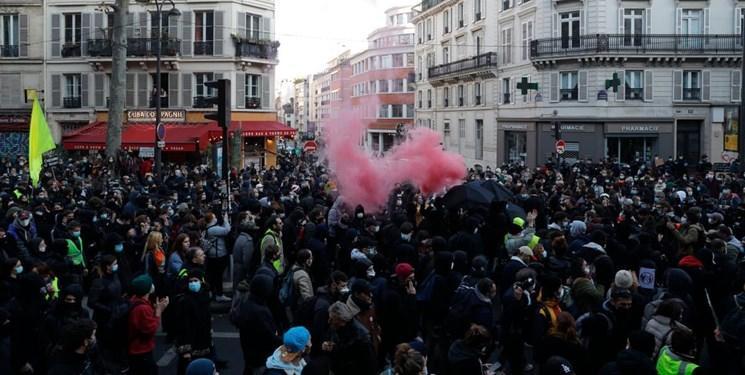 علت درگیری میان پلیس فرانسه و معترضان
