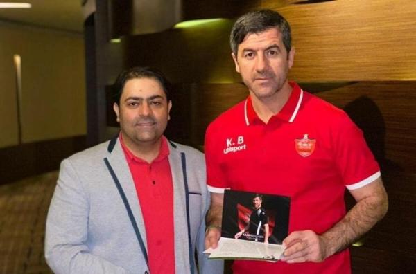(عکس) اقدام جالب مدیرعامل پرسپولیس قبل از فینال لیگ قهرمانان آسیا