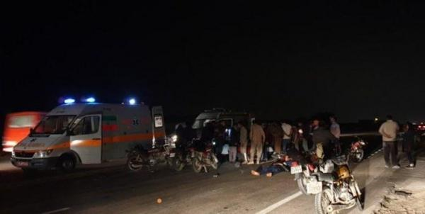 تصادف محور مواصلاتی شهرستان دیر 10 مصدوم برجای گذاشت