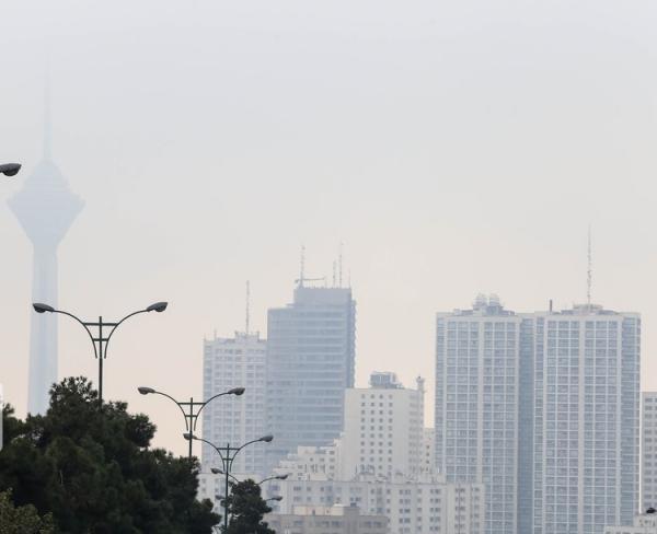 شاخص کیفیت هوای تهران دوشنبه 6 بهمن 99؛ بازگشت آلودگی به هوای پایتخت