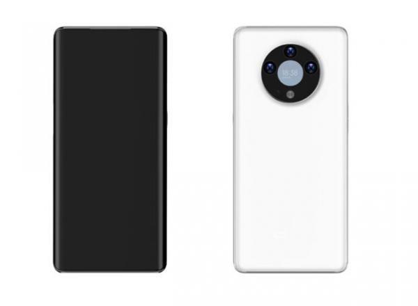 طرح موبایلی با نمایشگری در ماژول دوربین پشتی ثبت شد
