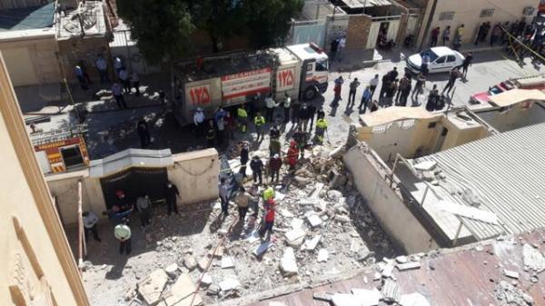 3 مصدوم حاصل انفجار گاز در کیان آباد اهواز