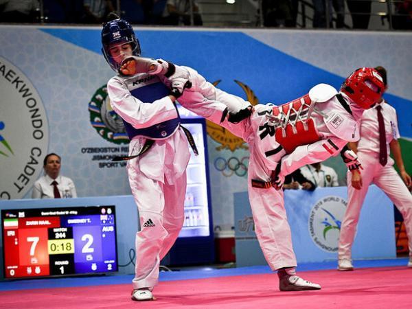 رقابت ایرانی ها در مسابقات تکواندو قهرمانی اروپا
