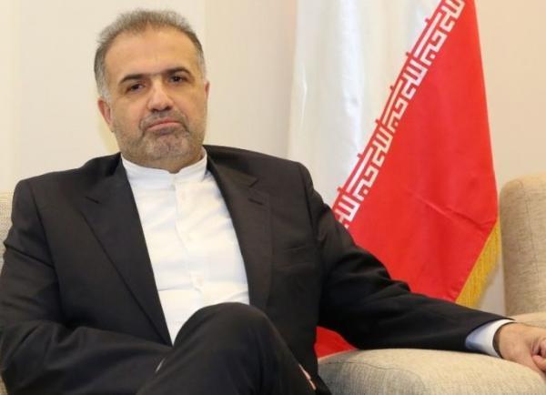 سفیر ایران در مسکو: با مقامات روس درباره فایل صوتی ظریف صحبتی نداشتم