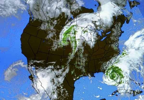 پیش بینی رعد و برق و باران در این استانها از امشب