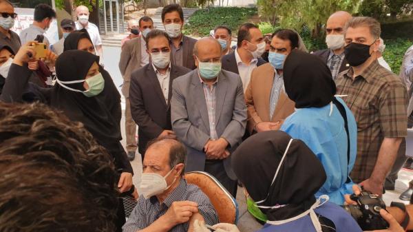 راه اندازی سه مرکز تجمیع واکسیناسیون کرونا در تهران با حضور دکتر علیرضا زالی