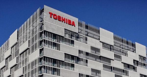 حمله سایبری به توشیبا