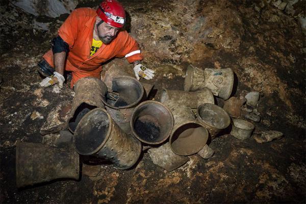 کشف غاری در مکزیک از تمدن مایا که 1000 سال دست نخورده مانده است