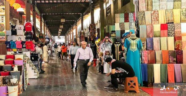مرشد؛ از عظیم ترین و معروف ترین بازارهای دبی