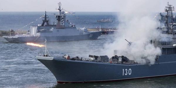 رزمایش ناوگان دریایی روسیه در کریمه در بحبوحه تنش ها با ناتو