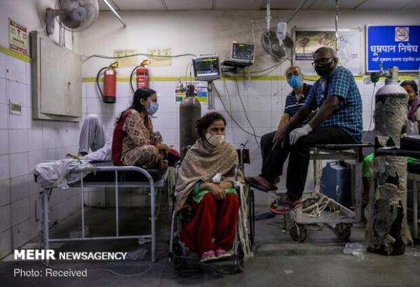 کرونا در هند 2427 قربانی گرفت، 100 هزار و 636 مورد تازه ابتلا
