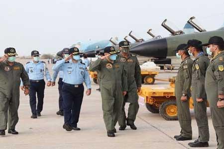 زبده ترین خلبانان، حفاظت از مرز های هوایی کشور را بر عهده دارند