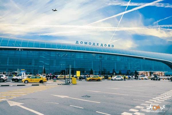 فرودگاه داماددوا، دومین فرودگاه شلوغ روسیه، عکس
