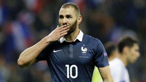 بنزما بالاخره به تیم ملی فرانسه بازگشت