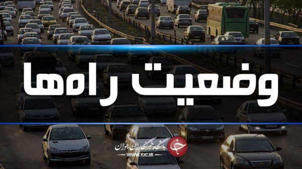 ترافیک نیمه سنگین در آزادراه کرج، قزوین